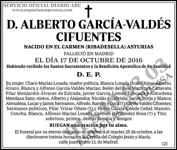 Alberto García-Valdés Cifuentes